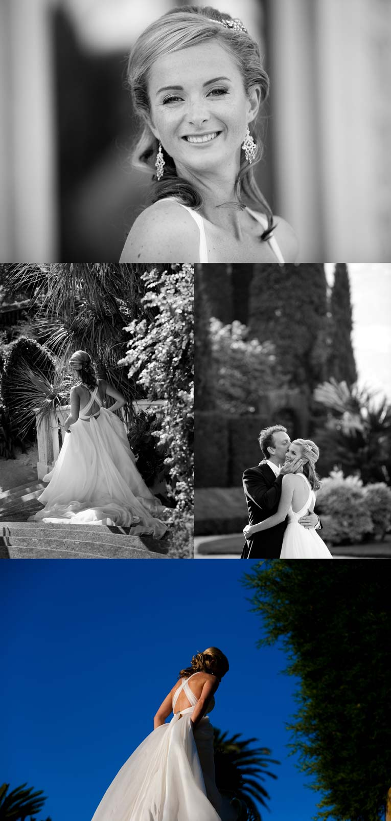 photo mariage villa ephrussi de rothschild