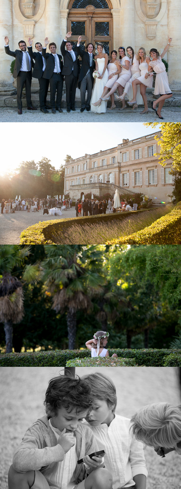 photo mariage chateau du martinet carpentras