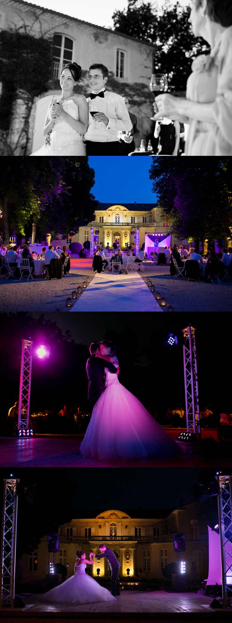 photo de mariage au chateau du martinet