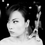 Pauline + Marcus : wedding portrait in Paris by day & by night June 18th 2012