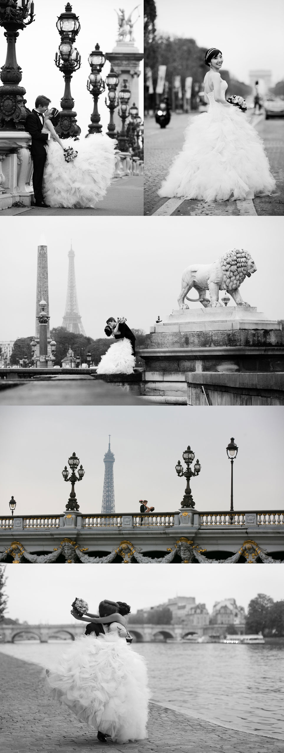 engagement photography session in paris