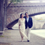 engagement photography session in paris Adele and Lewis