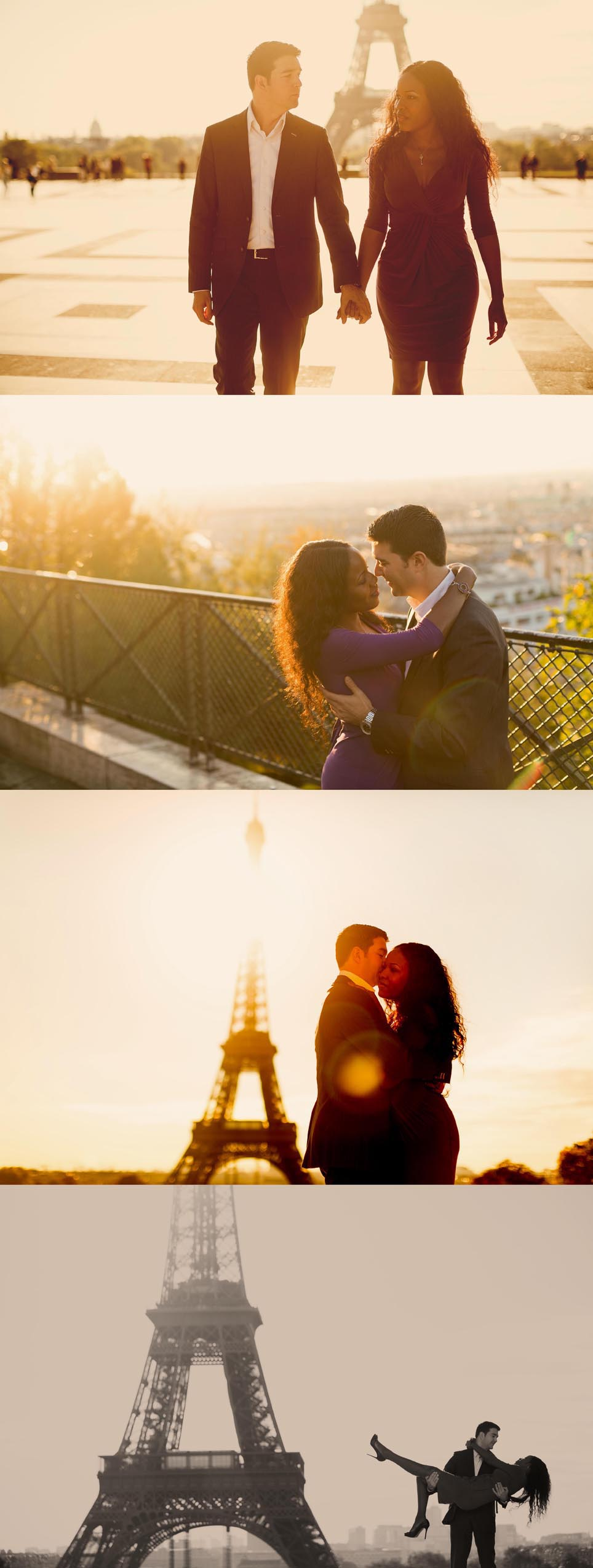 engagement photo session paris
