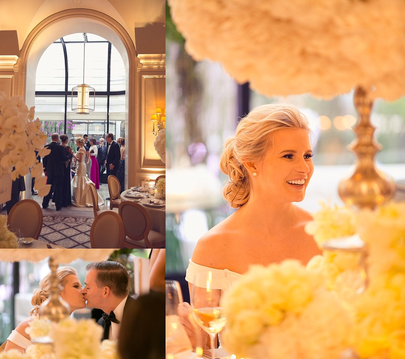Mariage au Four Seasons George V Paris
