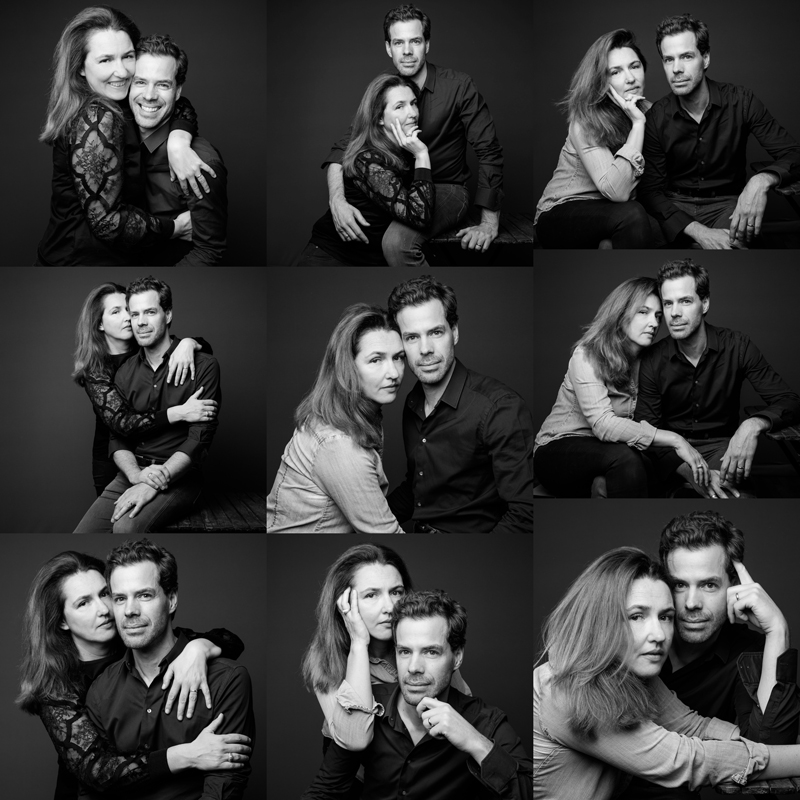 Photo de couple en studio | Paris