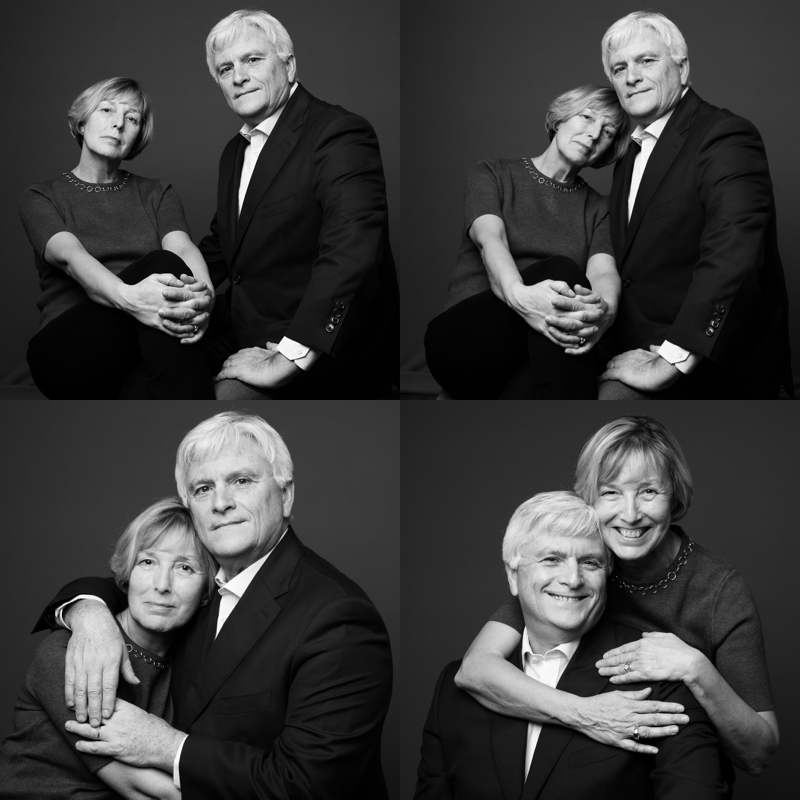 Portrait de couple en studio | Paris
