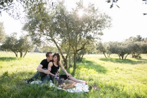 Engagement photo session in Provence