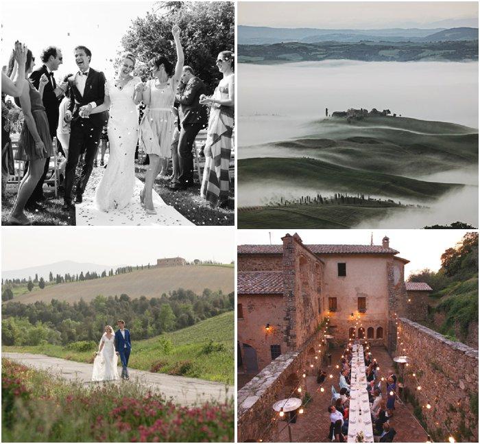 mariage montalcino italie